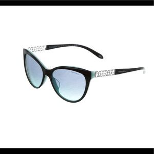 Black acetate Tiffany & Co. cat-eye sunglasses